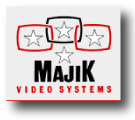 majik video systems logo